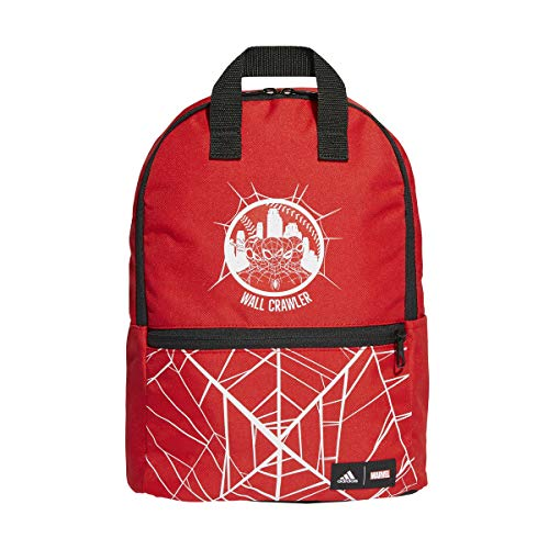 adidas GN2090 SPIDERMAN BP Sports backpack unisex-child vivid red/white/black NS