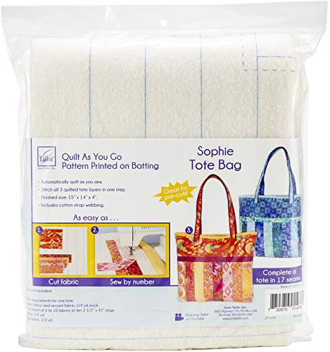 June Tailor JT-1476 Quilt As/Go Sophie Tote Bag None