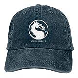 Adjustable Mortal Kombat Cowboy Cotton Ball Hat Plain Cap Comfortable and Breathable...