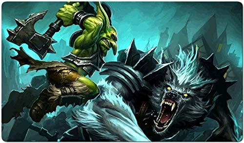 147973 - World of Warcraft-Brettspiel MTG Spielmatte Tischmatte MTG playmat Größe 60x35cm Mousepad Spielmatte für TCG Magic The Gathering