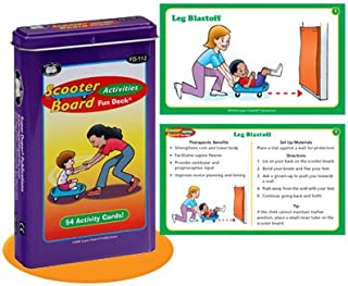 Super Duper Publications Scooter Board Activities Fun Deck Flash Cards Educational Learning Resource for Children