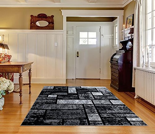 Persian Area Rugs Luxe Weavers Tobis Collection Area Rug 1007 Gray 5x7