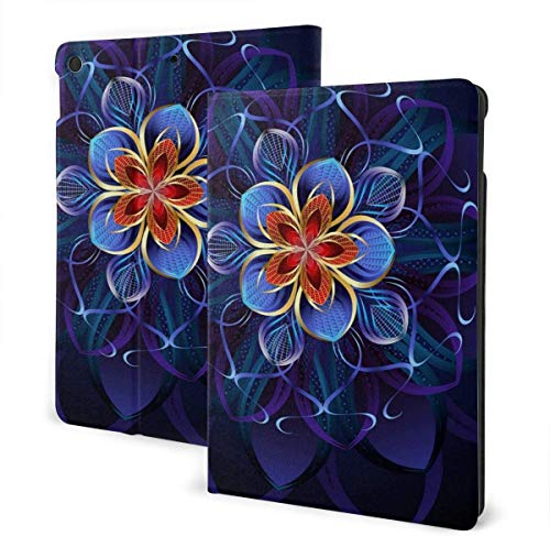 Water Surface Under The Sun Case for IPad Air 3rd Gen 10.5' 2019 / IPad Pro 10.5' 2017 Multi-Angle Folio Stand Auto Sleep/Wake for IPad 10.5 Inch Tablet-Watercolor Cactus Pattern-One Size