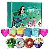 10 Bath Bombs for Kids, Bath Bomb Gift Set,...