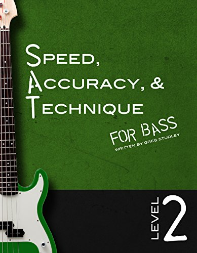 Speed, Accuracy & Technique for Bass: Level 2