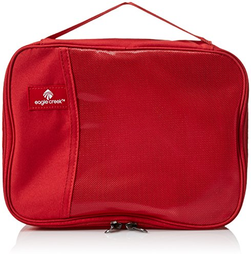 Eagle Creek Pack-It Original Clean Dirty Cube S Kofferorganizer, 25 cm, 5 Liter, Red Fire