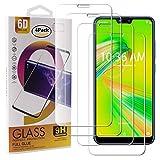 Guran 4 Pezzi Pellicola Protettiva in Vetro Temperato per ASUS Zenfone Max Plus (M2) ZB634KL Smartphone 9H Durezza Anti-Impronte HD Alta Trasparenza Pellicola