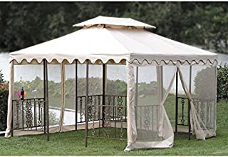Replacement Canopy Top for DC America 12 x 12 Scalloped Gazebo by Jur_Global