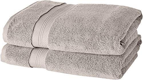 Toalla de baño algodón pima 2 toallas de 76x147cm grandes EN OFERTA
