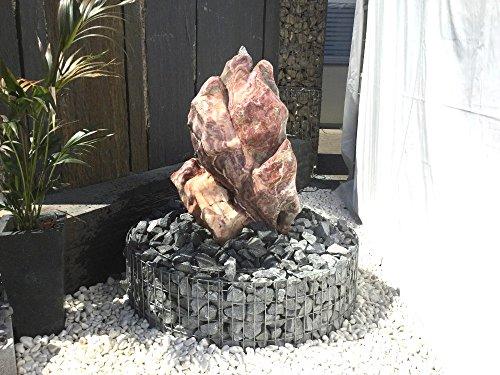 Quellstein/Findling / Einzigartiger Stein für Garten, Brunnen oder Teich EINZELSTÜCK