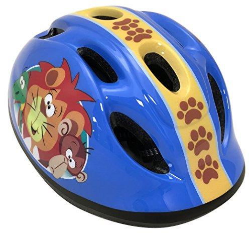 Stamp - C675103S casque vélo enfant Animaux de la Jungle - Multicolore - S (52-56 cm)