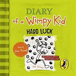 Hard Luck     Diary of a Wimpy Kid, Book 8              By:                                                                                                                                 Jeff Kinney                               Narrated by:                                                                                                                                 Dan Russell                      Length: 1 hr and 49 mins     133 ratings     Overall 4.4