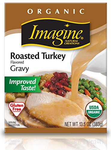 Imagine Organic Gravy, Roasted Turkey, 13.5 Ounce (Pack of 12)