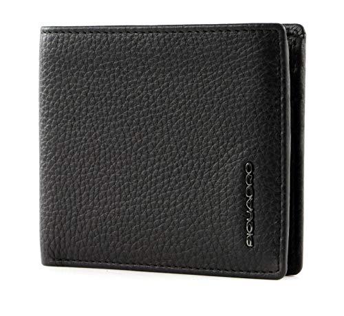 Piquadro Modus Special Porta Carte di Credito, 11 cm, Nero