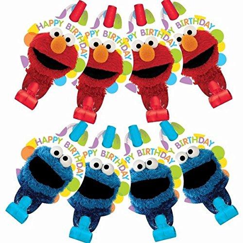 AMSCAN 220674 Sesame Street Blowouts Party