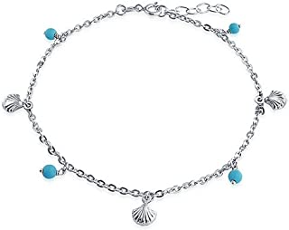 Best silver turquoise ankle bracelet Reviews