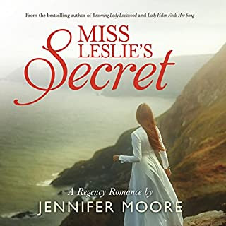 Miss Leslie's Secret                   By:                                                                                                                                 Jennifer Moore                               Narrated by:                                                                                                                                 Aubrey Warner                      Length: 6 hrs and 42 mins     11 ratings     Overall 4.5