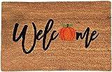 Halloween Doormat Blanket Welcome Home Front Door Decorations, Halloween Decor, Door Mat Anti-Slip Bottom Indoor Outdoor Carpet,Halloween Decorations Clearance (A)