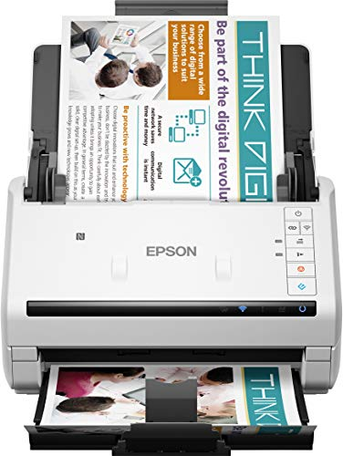 Epson Dokumentenscanner B11B228401, Weiß,