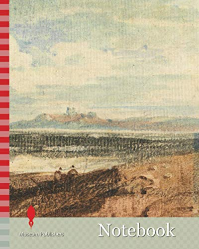 Notebook: View of Rugged Coastline, Bamburgh, Northumberland, John Varley, 1778-1842, British, undated, Watercolor, graphite and scraping out on medium, slightly textured, cream laid paper