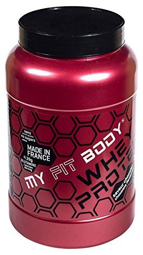 My Fit Body - Whey Protein Gamma Pro - Integratore Sportivo - Migliora i Risultati - Ideale per Aumentare la Massa Muscolare - Proteina di Siero di Latte - Gusto Cioccolato - 907 gr