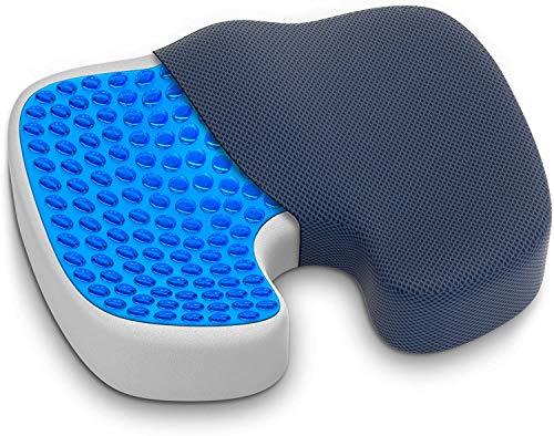 comodidad Memory Espuma/Auto asiento cojín de asiento/silla tapizada/ischiaspolster/coxis acolchado/hämorrhoide y cadera Cojín de asiento, dolor