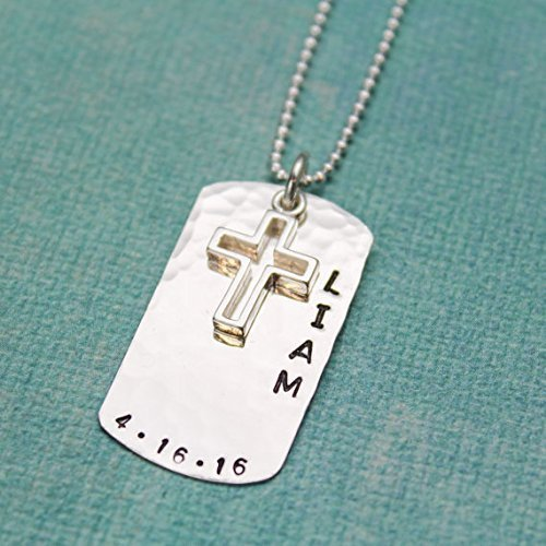 Personalized Communion Necklace Gift for Communion Cross Necklace Religious Gift First Communion Necklace First Holy Communion Gift