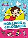 Heidi - Mon livre de coloriages par Hachette
