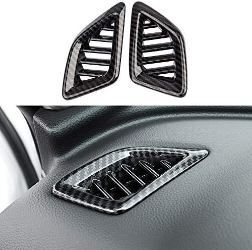 XITER 2pcs ABS Carbon Fiber Dashboard Air Vent Wind Outlet Cover Trim Decoration Frame For Honda product image