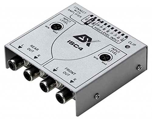 ESX ISC4 HIGH-TO-LOW LEVEL ADAPTER - 4-Kanal High Low Adapter