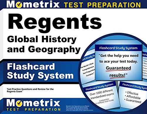 Regents Global History And Geography Exam Flashcard Study System Regents Test Practice Questions Review For