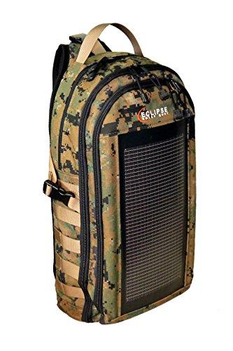 The Slingshot Solar Sling Bag, Digital Woodland Camo