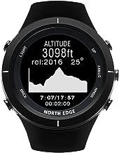 Yukuai North Edge Sport Smartwatch Bracelet, Waterproof Fitness Activity Tracker Heart Rate Blood Pressure Sleep Monitor Pedometer, Multifunctional Sport Bracelet for Android iOS