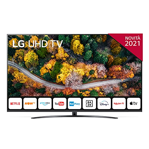 TV 75  LG ULTRA HD 4K WEBEOS QUADCORE ARCLINE 75UP78006LB.API GARANZIA ITALIA