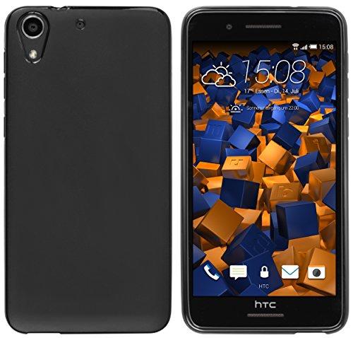 mumbi Hülle kompatibel mit HTC Desire 728G Handy Hülle Handyhülle, schwarz