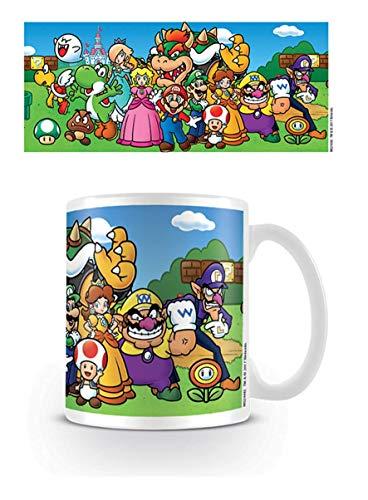 Pyramid MG24482 Super Mario Characters - Taza de cerámica, porcelana, multicolor