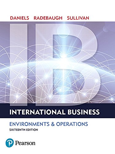 International Business (16th Edition)