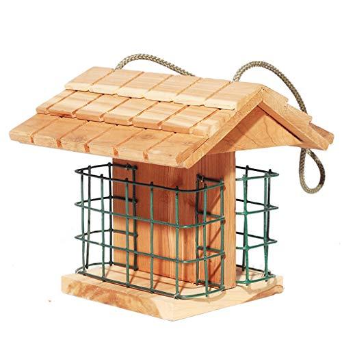 JXXDDQ Observateur d'oiseaux - Station d'oiseau, décoration de Jardin de Jardinage en Bois extérieur