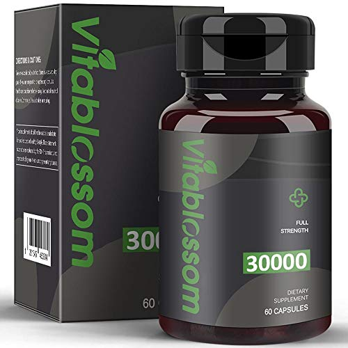 Capsules 30000MG, High-Strength Cold-Pressed, 100% Natural Formula - Rich in Omega 3, 6, 9 (1PCS)