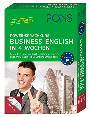 PONS Power-Sprachkurs Business English: So lernen Sie schnell im Beruf auf Englisch kommunizieren. Mit Lernbuch, 3 CDs und Online-Tests.: Schnell im ... Buch mit 3 Audio+MP3-CDs und Online-Tests