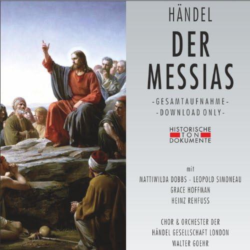 Chor der Händel Gesellschaft London, Orchester der Händel Gesellschaft London291: Walter Goehr111: Mattiwilda Dobbs, Leopold Simoneau, Grace Hoffman & Heinz Rehfuss