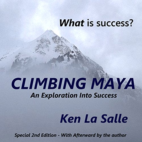 Climbing Maya audiobook cover art
