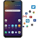 """Moviles Libres 4G Android 9.0 (Certificación Google GMS) 3GB RAM+32GB ROM/128GB Smartphone Libre 5.5"""" HD Pantalla, Tres Tarjetas: 2X MicroSIM + TF, WiFi GPS Móviles y Smartphones Libres -Negro"""