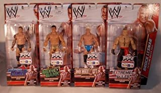 WWE Build Teddy Long 4 Mattel Figures Brock Lesnar - Randy Orton - Dolph Ziggler - Del Rio