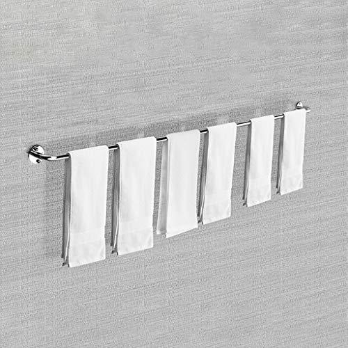 Yiwen Barra Horizontal Accesorios baño,Acero Inoxidable Accesorios baño sin Taladro Espesamiento Colgador Toalla baño toallero bañoSencillo y Elegante para la Cocina y el baño