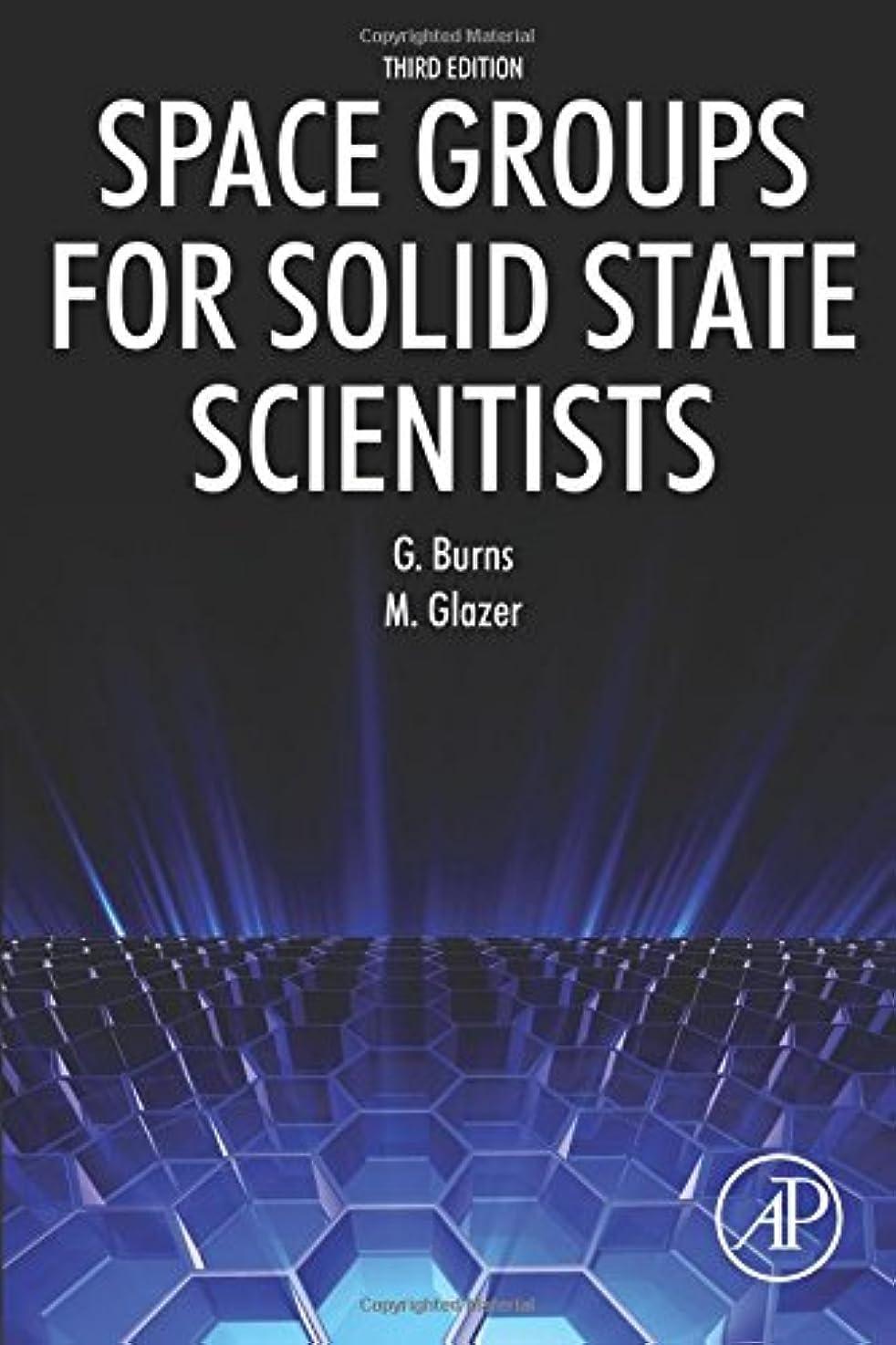 浸したガロン喉頭Space Groups for Solid State Scientists, Third Edition