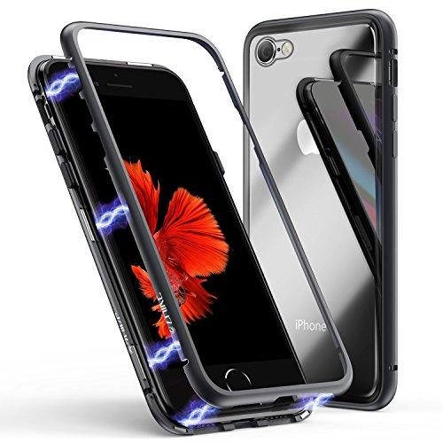 Funda para iPhone 6 Plus/6s Plus, ZHIKE Funda de Adsorción Magnética Súper...