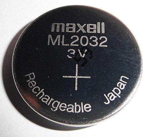 Maxell Ml2032/ML 2032batería Recargable