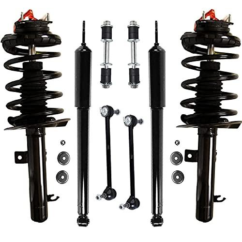 Detroit Axle - 2.0L Front Struts + Rear Shock Absorbers Sway Bar Links...