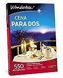 WONDERBOX Regalo -Cena para Dos- 550 restaurantes seleccionados para Dos Personas